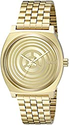 Nixon Men's 'Time Teller SW, C-3PO Gold' Quartz Stainless Steel Casual Watch (Model: A045SW-2378-00)
