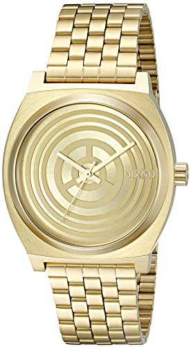 Nixon Mens Time Teller SW C 3PO Gold Quartz Stainless Steel Casual Watch Model A045SW 2378 00