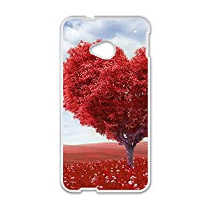 HRMB Love tree Phone Case for HTC One M7 case