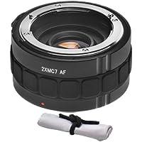 &nbsp Nikon D5200 2x Teleconverter (7 Elements) + Nwv Direct Microfiber Cleaning Cloth.
