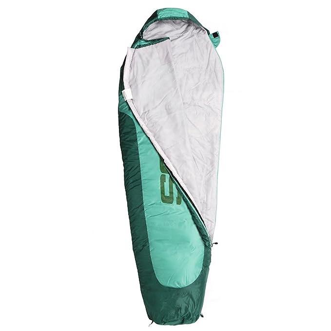 meteor momia saco de dormir con cremallera interior exterior camping Saco para adultos y niños de verano y saco de dormir de invierno de compresión Pack ...