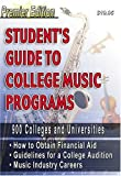 Students Guide to College Music Programs, , 0972070206