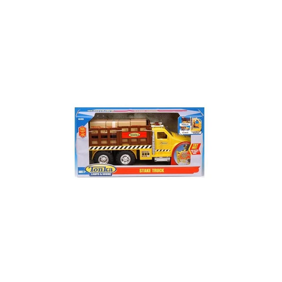 Tonka Lights & Sound Stake Truck  Toys & Games