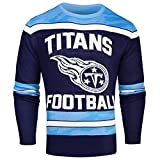 FOCO Tennessee Titans Ugly Glow in The Dark Sweater - Mens - Mens Double Extra Large