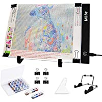 Mlife Diamond Painting A4 LED Light Pad - Dimmable Light Board Kit, Apply to Full Drill & Partial Drill 5D Diamond…