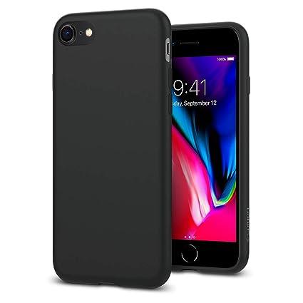 cheaper dfe97 c2935 Spigen Liquid Crystal [2nd Generation] Designed for Apple iPhone 8 Case  (2017) / Designed for iPhone 7 Case (2016) - Matte Black
