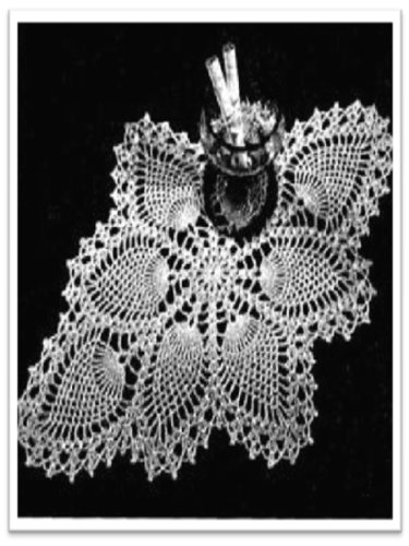 2646 Peacock Doily Vintage Crochet Pattern Kindle Edition By