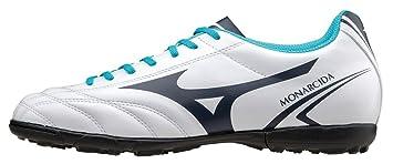 Mizuno Scarpa Calcio Uomo Monarcida MD Bianco Azzurro