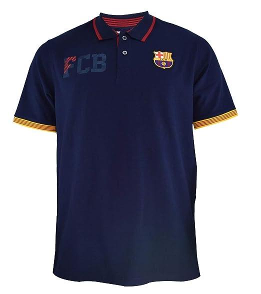 Polo FCB Barcelona Camiseta Manga Corta Oficial Barco PS 32078 ...