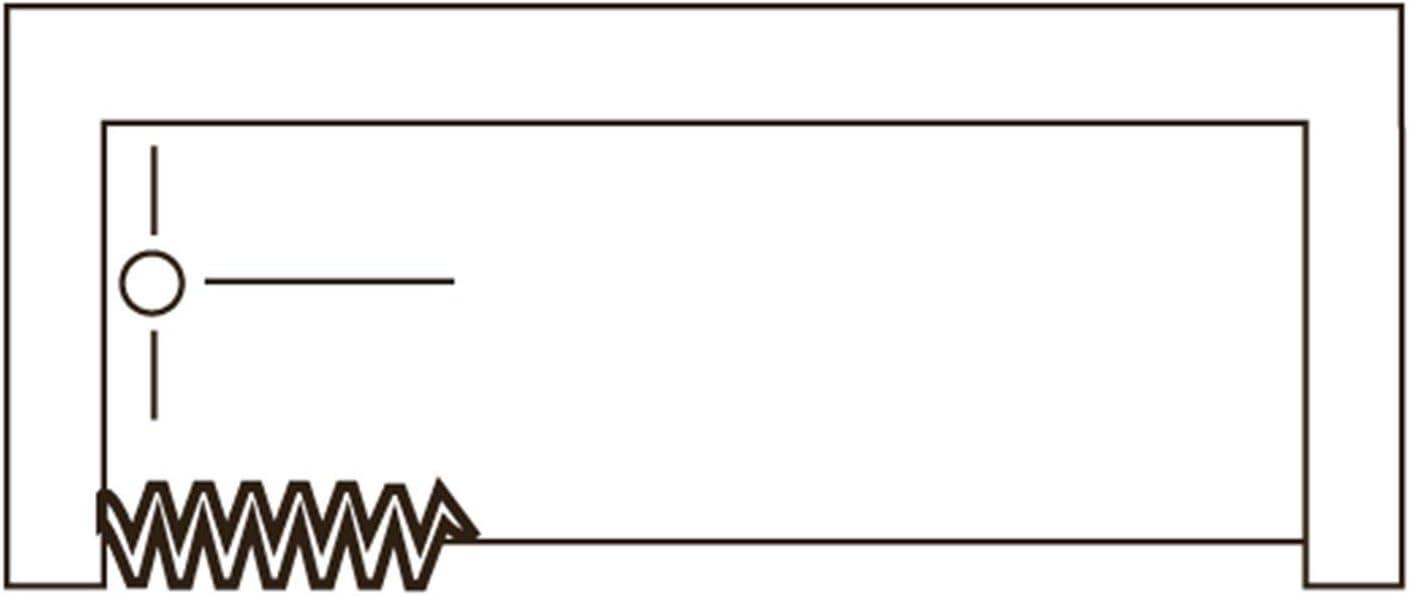 RL Puerta Mampara de bañera 160 CM de PVC Mod. Nina con Apertura ...