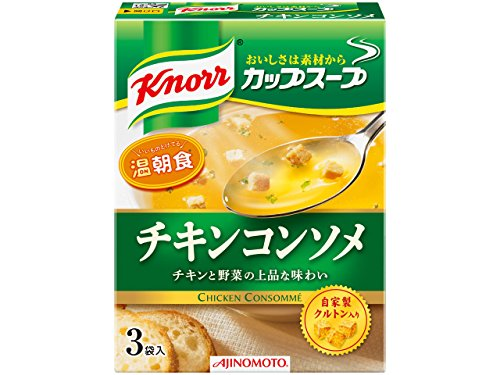 Knorr cup soup chicken consomme 3packsx10 by Ajinomoto