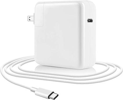 Amazon.com: 61 W USB C adaptador de alimentación tipo C ...