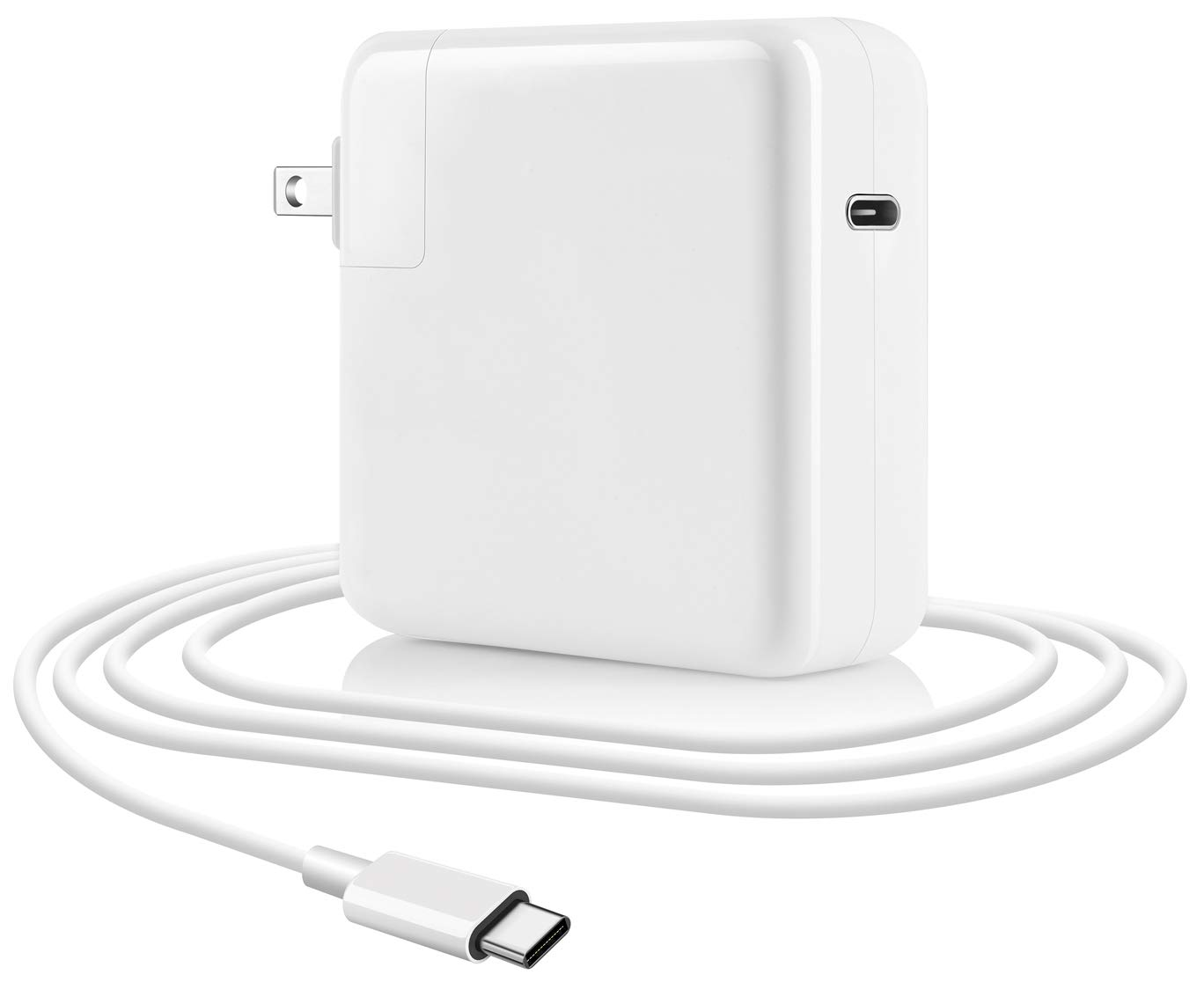 61w USB C Power Adapter Type C Wall Charger Compatible with MacBook Pro 13 Thunderbolt New MacBook Air Charger 2018 2017 2016 Mac.