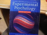 Study Guide for Myers/Hansen's Experimental Psychology, 6th, Myers, Anne and Hansen, Christine H., 0534634427