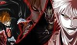 Bleach Ichigo PLAYMAT CUSTOM PLAY MAT ANIME PLAYMAT #119 by MT