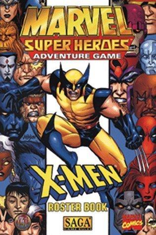 Download X-Men Roster Book (Marvel Super Heroes RPG) by