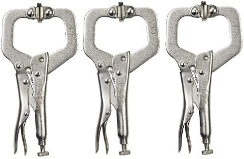 """Irwin6SPVise-Grip C-Clamp With Swivel Pads-6"""" C-CLAMP W/PADS (並行輸入品)"""