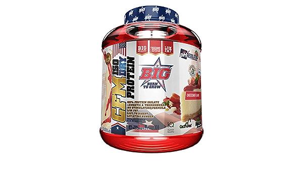 BIG CFM ISO Dry Aislado de Proteína - 1000 gr: Amazon.es ...