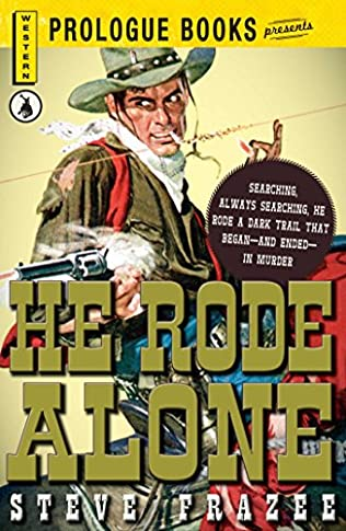 book cover of He Rode Alone