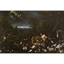 'Bassano Jacopo Bassano Francesco La Reconvencion A Adan Ca. 1570 ' Oil Painting, 10 X 15 Inch / 25 X 38 Cm ,printed On Perfect Effect Canvas ,this Cheap But High Quality Art Decorative Art Decorative Canvas Prints Is Perfectly Suitalbe For Study Gallery Art And Home Gallery Art And Gifts