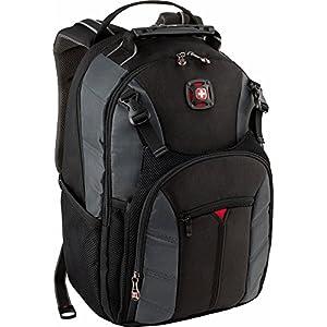 """Wenger Swissgear Swiss Gear Sherpa 16"""" Laptop Backpack Black/Grey"""