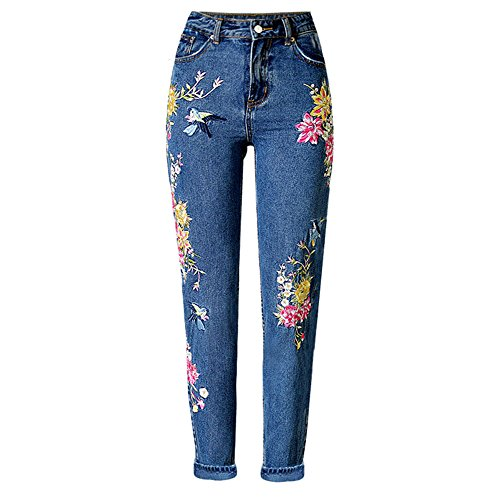 embroidery pants - 6