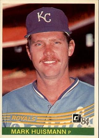 Amazoncom 1984 Donruss Baseball Card 339 Mark Huismann