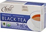 Choice Organic Teas Black Tea Value Pack, 80 Count, Pack of 6 Review
