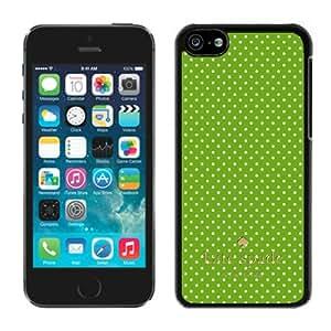 Most Popular Custom iPhone 5C Case Kate Spade New York Hard Plastic Phone Case For iPhone 5c Cover Case 243 Black