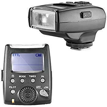 NEEWER VK320 E TTL Flash Speedlite for Canon EOS 5D Mark III & II EOS 6D 7D 70D 60D 50D EOS REBEL T5i/700D REBEL SL1/100D REBEL T4i/650D REBEL T3i/600D REBEL T2i/550D REBEL T1i/500D REBEL T3/1100D EOS M2 M