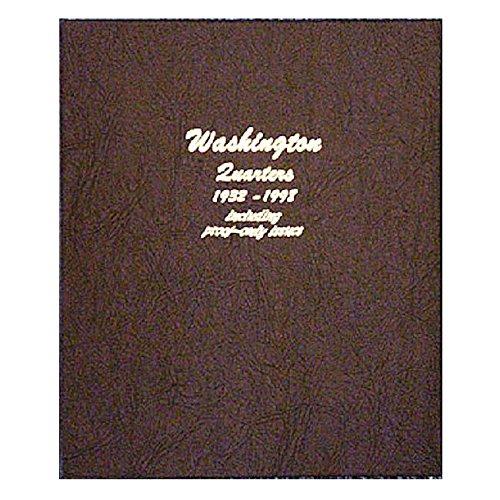 Dansco US Washington Quarter Coin Album 1932 - 1998 with Proof #8140 ()