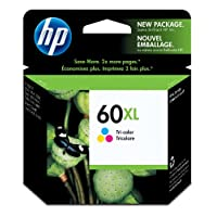 Cartucho de tinta original de alto rendimiento tricolor HP CC644WN # 140 60XL (CC644WN)