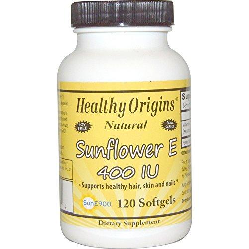 Healthy Sunflower E, 400 IU, 120 Softgels - 2pc