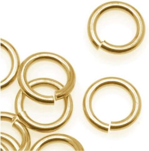 Antiqued Brass JUMPLOCK Jumprings That LOCK Closed 4,6,8 OR 10mm