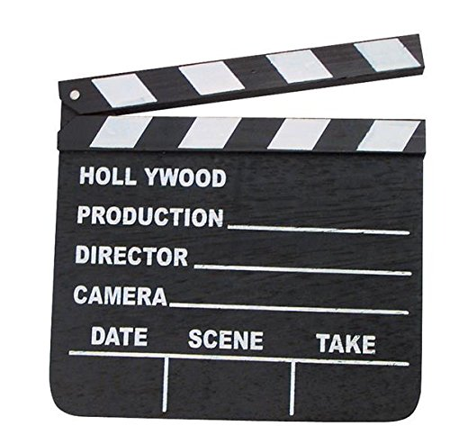 LOT OF 12 HOLLYWOOD CLAPPERS MOVIE CLAPBOARD WHOLESALE