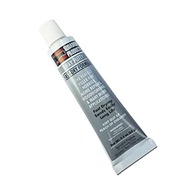 Gray Putty for Model & Hobby (2.3 oz tube): Toys & Games