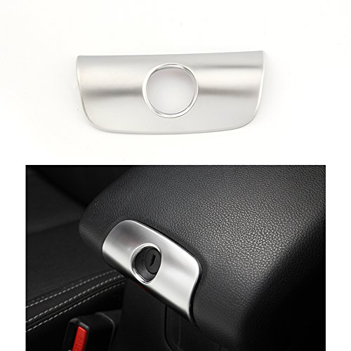 Interior Car Accessories Decorations,RT-TCZ Central Console Keyhole Cover Trim for Jeep JK Wrangler&Unlimited 2011 - 2017[SILIVER] - Custom Interior Trim