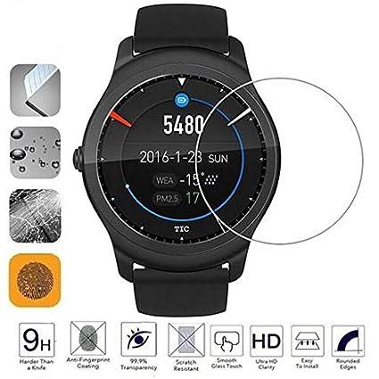 Amazon.com: Lyperkin 2/4/6-Pack Ticwatch 2 Screen Protector ...