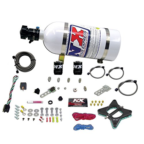 Nitrous Express 20946-10 50-150 HP 2-Valve Plate System with 10 lbs. Bottle for Ford 4.6L Engine