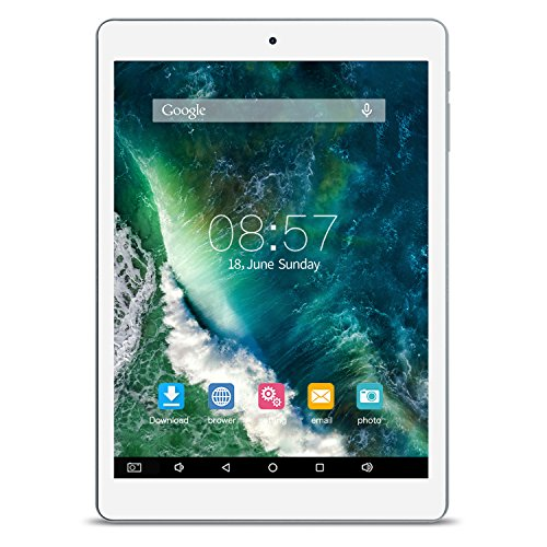 ALLDOCUBE iPlay8 Tablet, 7.85 inch 1024×768 IPS Screen Tablet PCs, MTK MT8163 Quad Core 1.3Ghz, 1GB RAM, 16GB ROM, Android 6.0, Support HDMI Output, Dual Band WiFi, White Gray