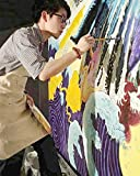 CONDA Adjustable Professional Bib Apron Canvas With