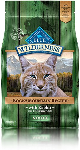BLUE Wilderness Rocky Mountain Recipe Recipe Adult Grain Free Red Meat Dry Cat Food 10-lbs
