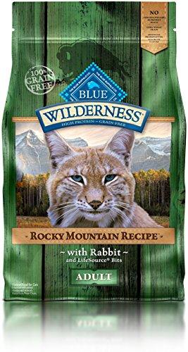 BLUE Wilderness Rocky Mountain Recipe Recipe Adult Grain Free Trout  Dry Cat Food 10-lb