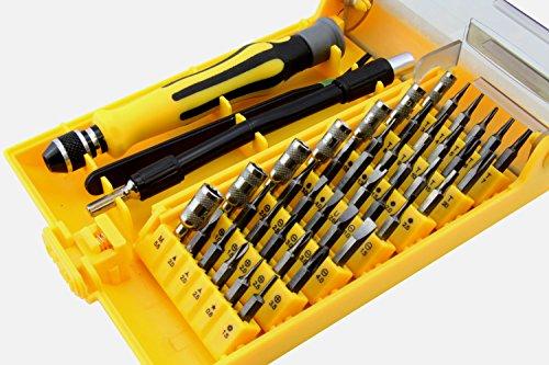 LB1 High Performance New Mini Universal Tool Kits for Casio FX-300MS Plus 229-Function Scientific Calculator Multipurpose 45-Piece Precision Screwdrivers Repair Tool Set