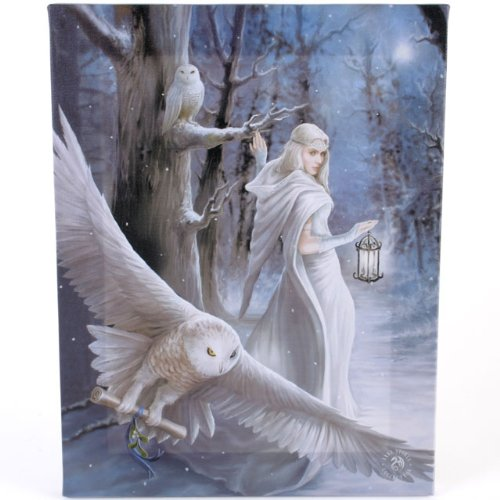 Fantastic Anne Stokes Design - Midnight Messenger - A Gothic Druid / Angel With