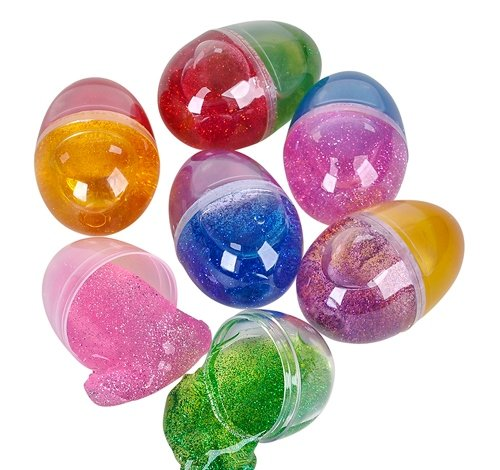 2.25'' TWO-TONE PUTTY EGG, Case of 288 by DollarItemDirect