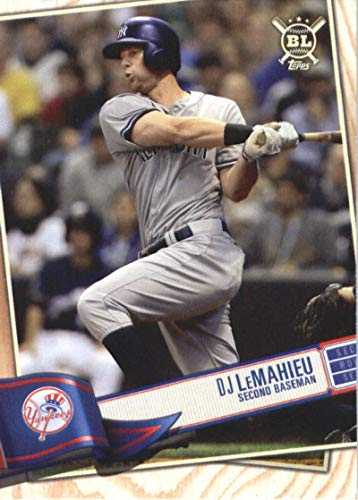 2019 Topps Big League #19 DJ LeMahieu New York Yankees MLB Baseball Trading Card