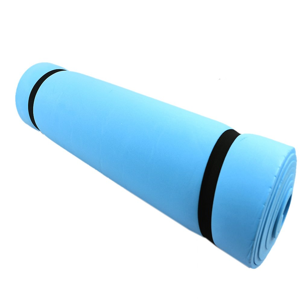 Ladaidra Yoga Mat with Carry Strap, Thick Non Slip Solid 69.69