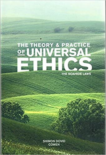 ;BETTER; The Theory And Practice Of Universal Ethics - The Noahide Laws. period every network clothing making privaten families