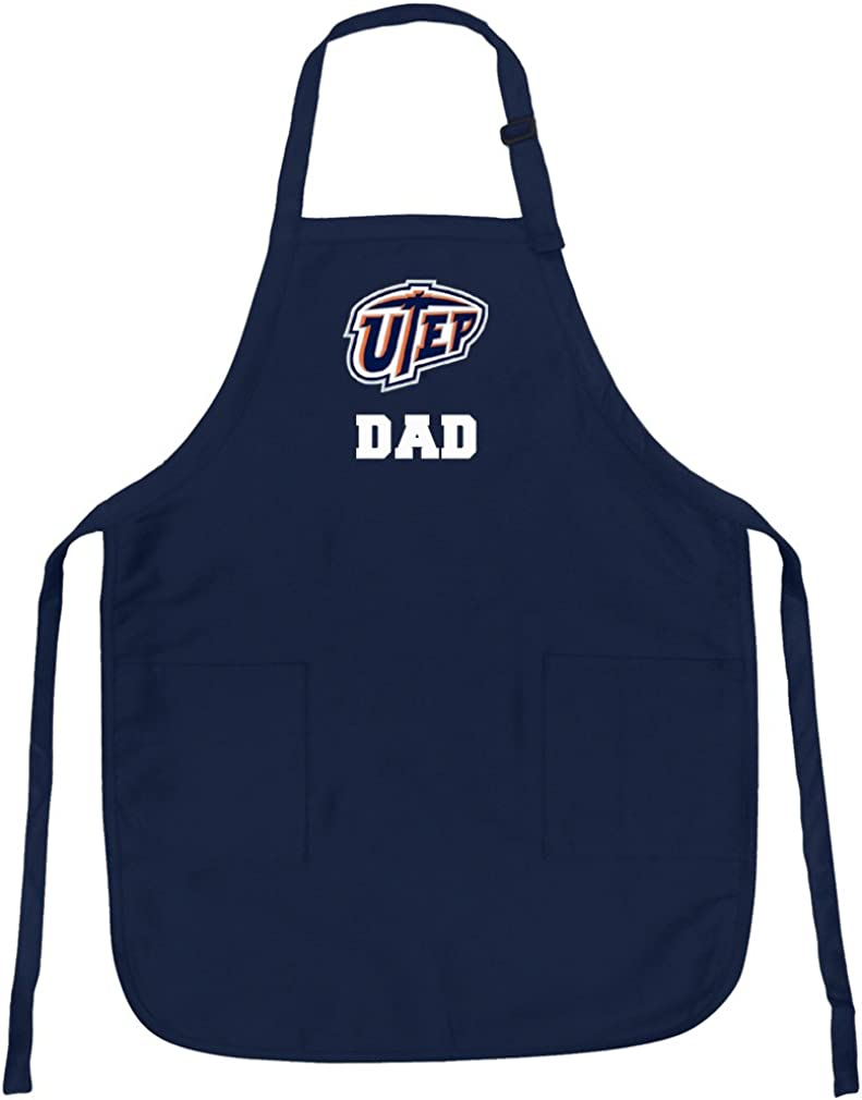 Broad Bay UTEP Dad Aprons NCAA UTEP Miners Dad Apron w//Pockets